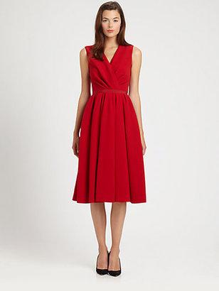 Giambattista Valli Wrap-Front Dress