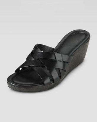 Cole Haan Bonnie Strappy Slide Wedge, Black