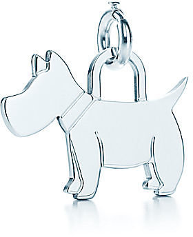 Tiffany & Co. Scottie Dog Tag Charm