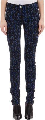 "Balenciaga Negative Knit"" Skinny Jeans"