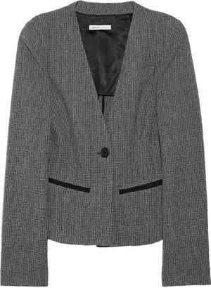 See by Chloe Wool-blend tweed blazer