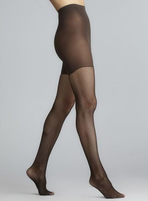 Spanx Tight End Patterned Fishnet Tights