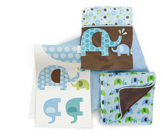 Skip Hop Blue Elephant 4PC Set W/Decals