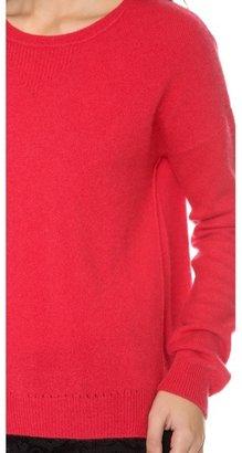 Velvet Cashmere Classic Crew Neck Sweater