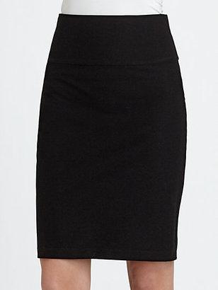 Eileen Fisher Foldover Waist Pencil Skirt