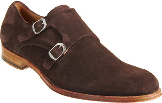 Barneys New York Double Monk Shoe