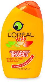 L'Oreal Kids 2-in-1 Shampoo, Extra Gentle, Splash of Sunny Orange