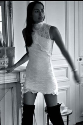 Nightcap Clothing Victorian Lace Sleeveless Dress in White $309 thestylecure.com
