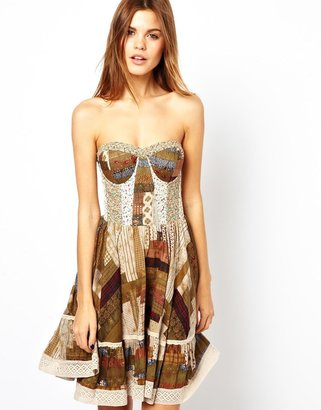 Denim & Supply Ralph Lauren By Ralph Lauren Patchwork Dress