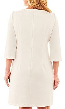 JCPenney Embellished Bell-Sleeve Dress - Plus