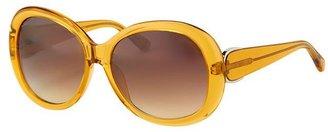 Oscar de la Renta Dandelion Sunglasses
