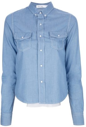 Sacai Luck rear pleat shirt