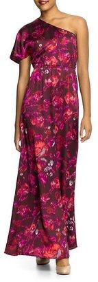 Sabine One Shoulder Printed Maxi Dress
