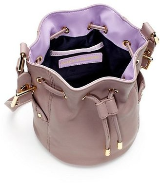Juicy Couture Selma Leather Mini Bucket Bag