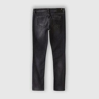 R 13 low skinny - dirty black