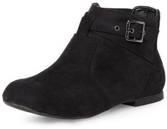 Dorothy Perkins Black gusset strap ankle boots