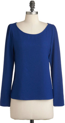 From The Blue Cobalt Top