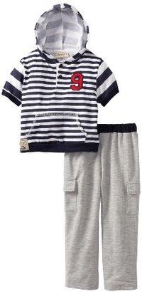 Carter's Watch the Wear Baby-boys Infant 2 Piece Short Sleeve Sweat Suit
