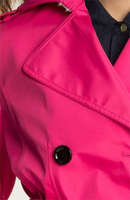 Calvin Klein Skirt Back Trench Coat
