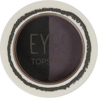 Topshop Eyeshadow Duo Plum/Black
