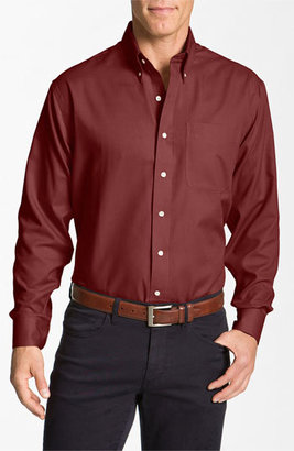 Cutter & Buck 'Nailshead - Epic Easy Care' Classic Fit Sport Shirt (Big & Tall) $85 thestylecure.com