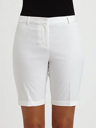 Saks Fifth Avenue Collection Sateen Bermuda Shorts