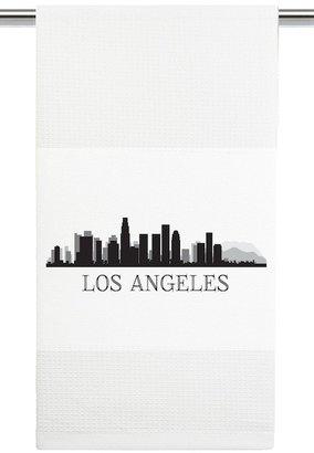 Mariasch Studios Los Angeles Skyline Kitchen Towel