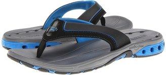 Speedo Hydro Comfort Thong (Black/Royal) - Footwear