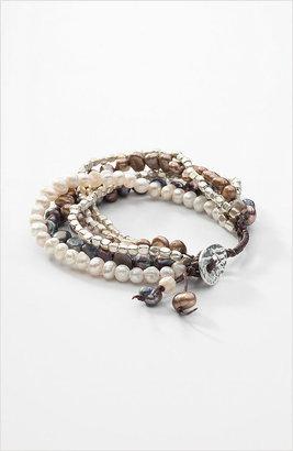 J. Jill Multistrand freshwater pearl bracelet