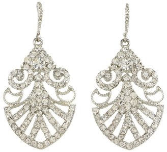 Nina Hazel Drop Earrings (Antique Silver) - Jewelry
