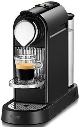 Nespresso C111/D111 Espresso Maker, Citiz Black