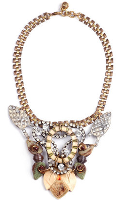 Lulu Frost 100 Year Necklace Featuring Vintage Parts From 1860-1960
