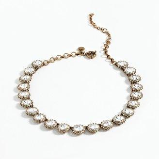 J.Crew Crystal Venus flytrap necklace