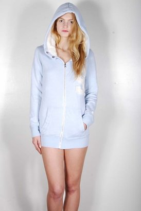 Rebel Yell Superflous Hoodie in Oxford Blue