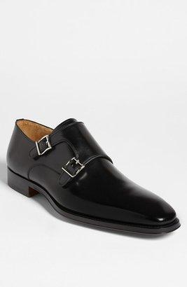 Magnanni Men's 'Miro' Double Monk Strap Shoe