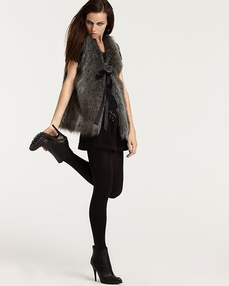 Vena Cava for Aqua Faux Fur Vest