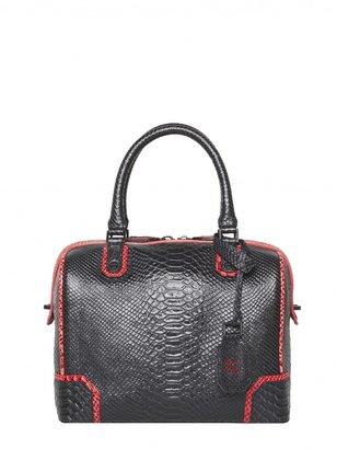 Alice + Olivia Olivia Snake Embossed Leather Bag