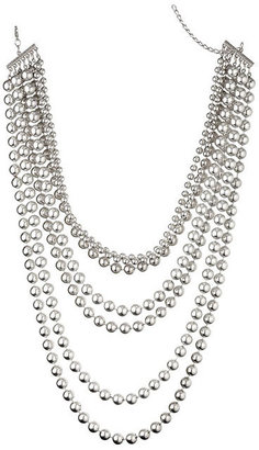Dorothy Perkins Burnished Bead Necklace
