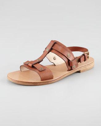 Chloé Open-Toe Slingback Sandal