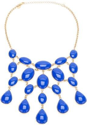 Kenneth Jay Lane Vintage Royal Blue Festoon Necklace