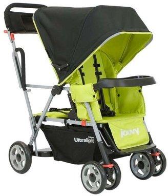 Joovy Caboose Ultralight Stand-on Tandem Stroller - Greenie