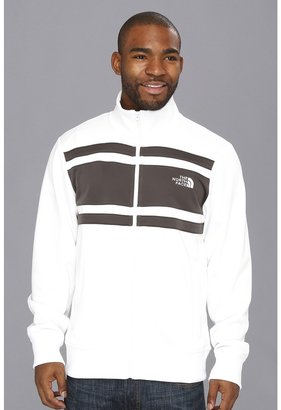 The North Face Steady Start Track Jacket (TNF White/Graphite Grey) - Apparel