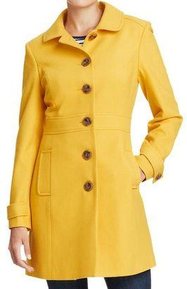 Old Navy Women's Peter-Pan Collar Wool-Blend Coats