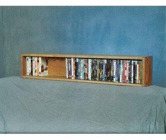 Wood Shed 100 Series 88 DVD Multimedia Tabletop Storage Rack Wood Shed