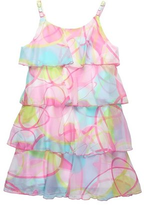 Biscotti Pool Party Tiered Dress