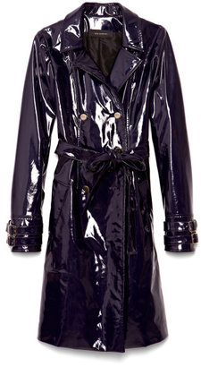 Wes Gordon Preorder Pvc Double Breasted Trench
