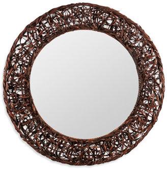 Rosalie Cooper Classics Rattan Mirror