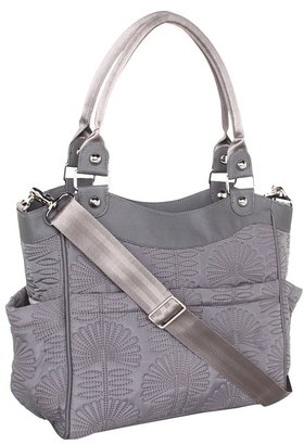 Petunia Pickle Bottom Embossed City Carryall Diaper Bags