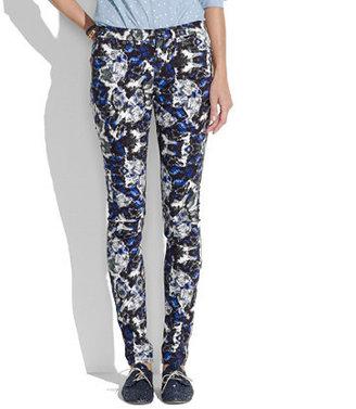 Madewell Skinny skinny jeans in brushstroke