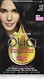 Garnier Olia Oil Powered Permanent Hair Color, 4.0 Dark Brown (Packaging May Vary) $9.99 thestylecure.com